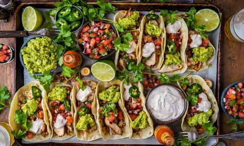 Loaded Grilled Chicken Tacos