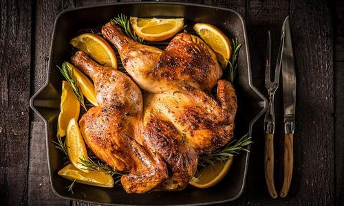 Roasted Rosemary Orange Chicken