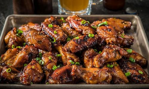 Roasted Teriyaki Wings