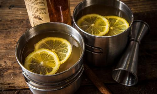 Smoked Hot Toddy
