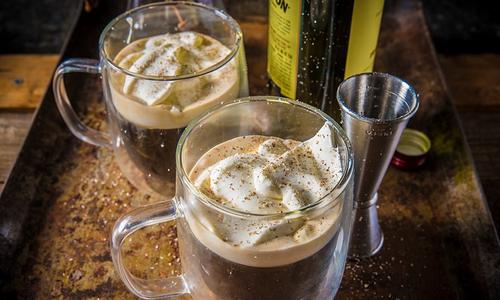 Smoked Irish Coffee