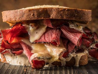 Traeger Smoked Pastrami Sandwich Recipe