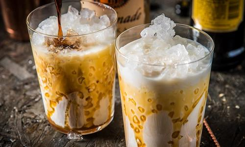 Smoked Salted Caramel White Russian