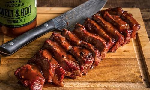 Traeger NY Strip Steak