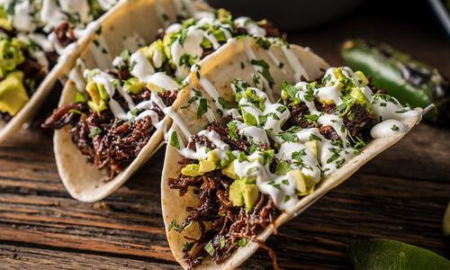 Braised Venison Shredded Tacos