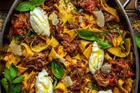 Braised Beef Pappardelle Recipe by Dennis the Prescott thumbnail