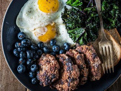Grilled Blueberry Breakfast Sausage Recipe