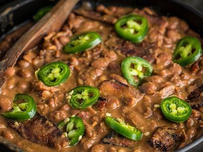 Texas Pinto Beans by Doug Scheiding Recipe
