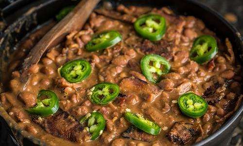 Texas Pinto Beans by Doug Scheiding