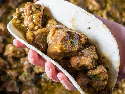 Braised Pork Chile Verde Recipe