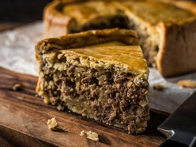 Baked Elk Meat Pie