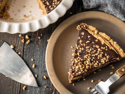 Baked Peanut Butter Pie by Amanda Haas Recipe