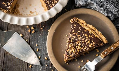 Baked Peanut Butter Pie by Amanda Haas