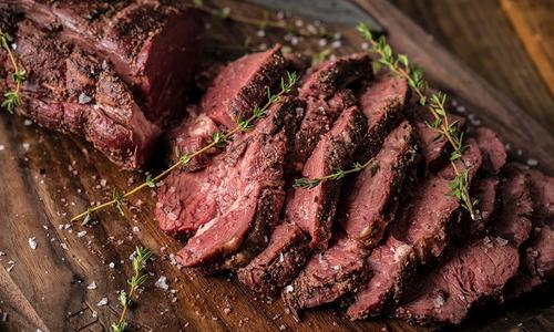Smoked Peppered Beef Tenderloin
