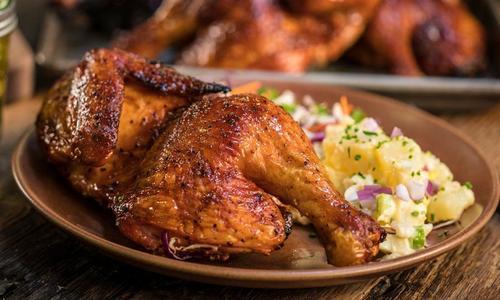 Spicy BBQ Whole Chicken