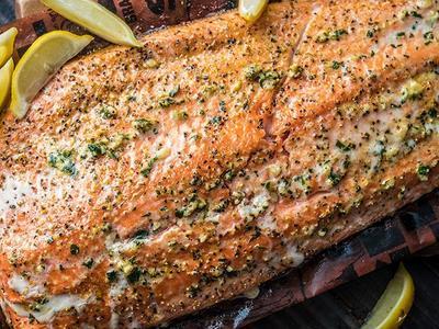 Knoblauch-Lachs Recipe