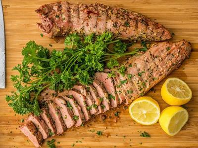 Grilled Lemon Pepper Pork Tenderloin Recipe