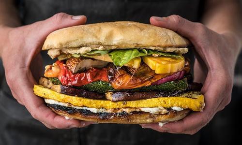 Grilled Veggie Sandwich