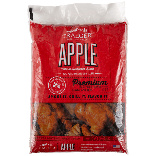 Traeger Apple BBQ Wood Pellets