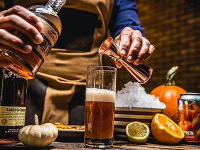 Grilled Applejack O'Lantern Cocktail Recipe