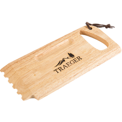 Traeger Wooden Grill Grate Scrapeimage