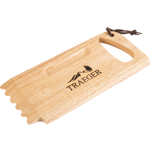 Traeger Wooden Grill Grate Scrape