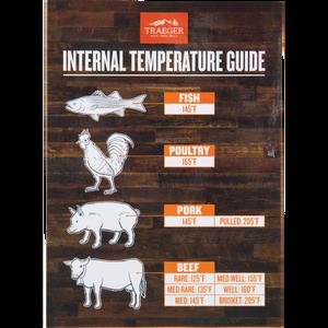 Traeger Internal Temperature Guide Grill Magnet
