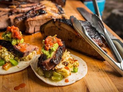 BBQ Brisket Breakfast Tacos Recipe