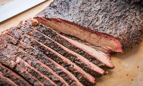 Smoked Brisket With Traeger Coffee Rub