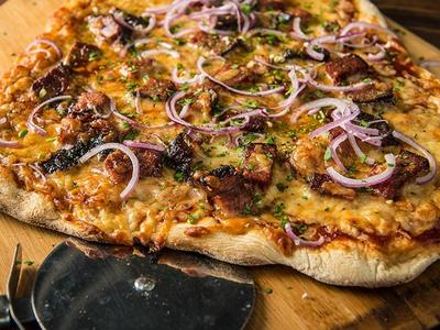 BBQ Brisket Pizza Recipe