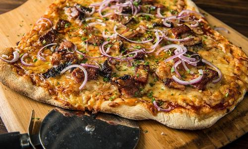 BBQ Brisket Pizza