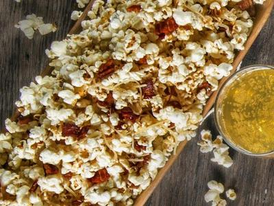 Bacon Parmesan Popcorn Recipe