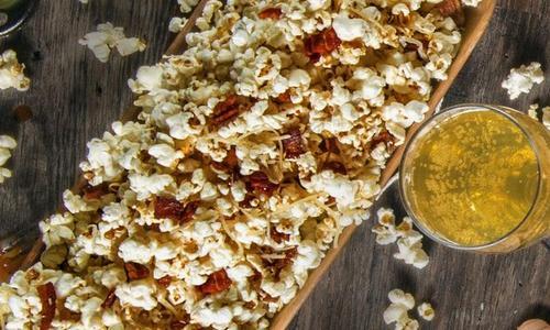 Bacon Parmesan Popcorn