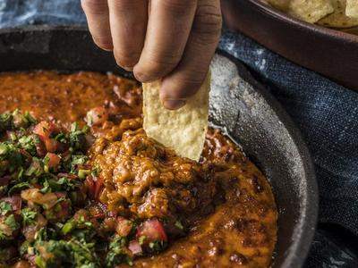 Baked Chorizo Cheese Dip Recipe