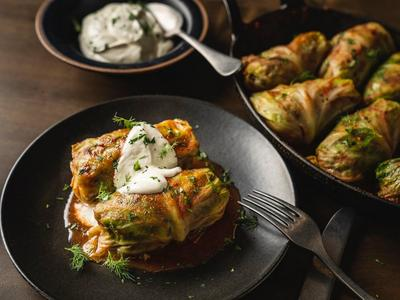 Baked Cabbage Rolls Recipe