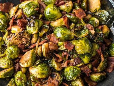 Balsamic Brussels Sprouts With Bacon Recipe