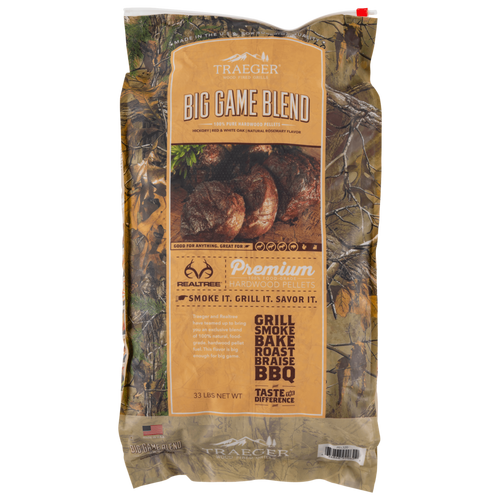 Traeger Realtree Big Game Blend Wood Pellets