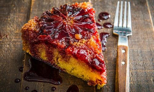 Baked Blood Orange Upside Down Cake