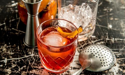 Traeger Boulevardier Cocktail
