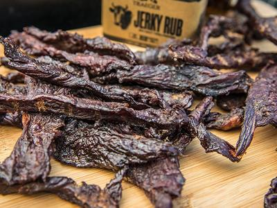 Smoked Bourbon Jerky Recipe