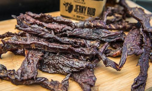 Smoked Bourbon Jerky