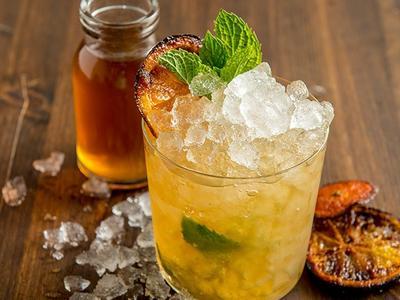 Burnt Orange Julep Cocktail Recipe