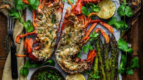 Traeger Kitchen Live: Caribbean-Style Grilled Lobster with Dennis Prescott thumbnail