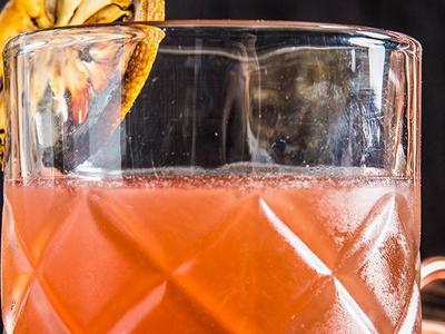 Smoky Scotch & Ginger Cocktail Recipe