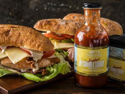 BBQ Chicken Bacon Ranch Sandwich Recipe