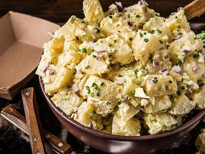 Classic Smoked Potato Salad Recipe