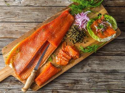 Cold-Smoked Salmon Gravlax Recipe