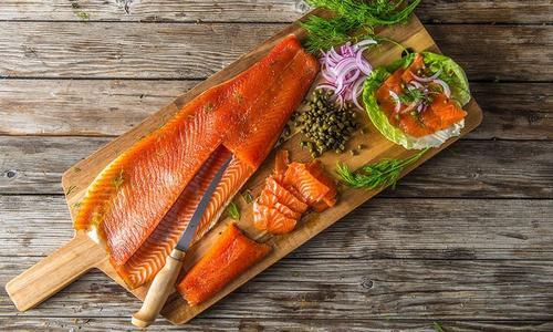 Cold-Smoked Salmon Gravlax