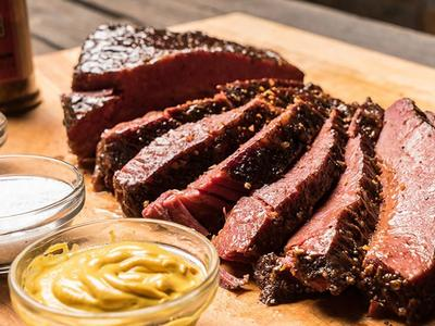 Smoked Corned Beef Brisket Recipe