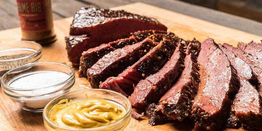 image of Smoked Corned Beef Brisket